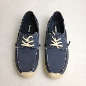 Madden Casual Lace Boat Blue White Size 11.5 Shoes